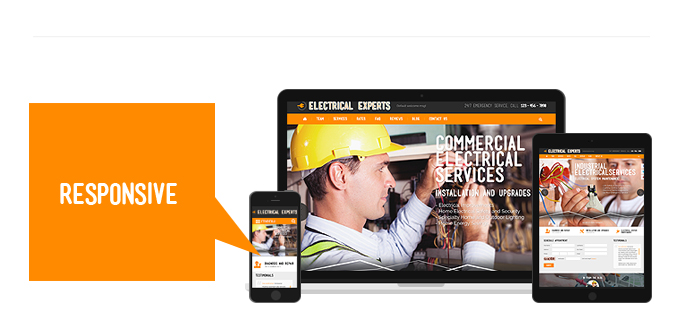Electrical Experts - responsive web theme